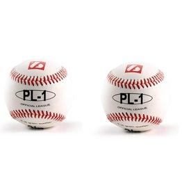 "barnett PL-1 Baseball Ball Match Elite, Wettkampf Profi, Größe 9"" (inch), Farbe weiß, 2 Stück"