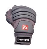 barnett FLG-03 American Football Handschuhe Linemen Profi, OL,DL, grau