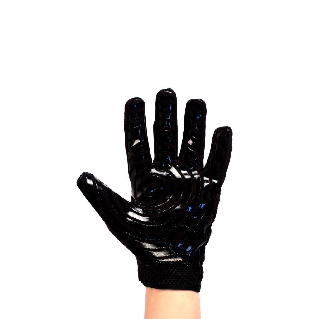 barnett FRG-02 American Football Handschuhe Receiver, Empfänger fit, RE,DB,RB, schwarz