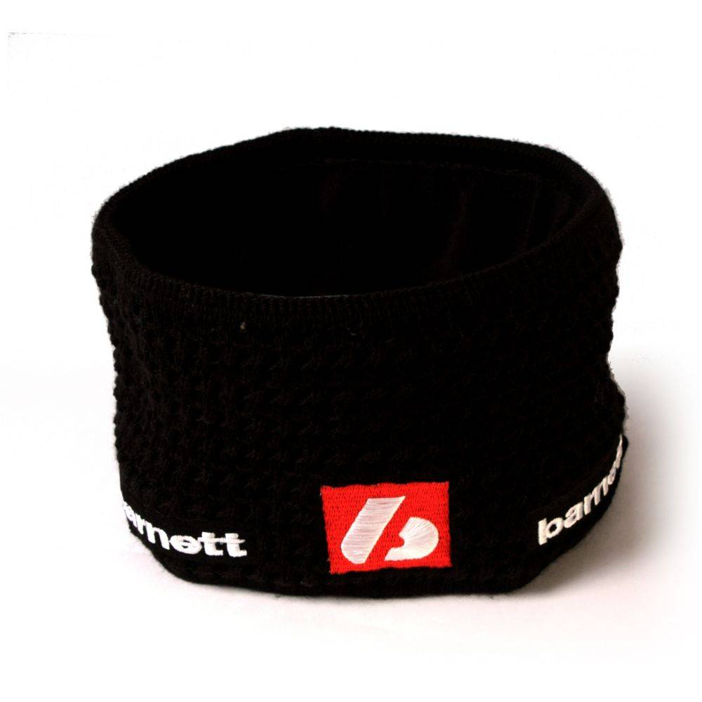 barnett M3 Warmes Stirnband aus Wolle, für Temperaturen bis -30°C, Schwarz