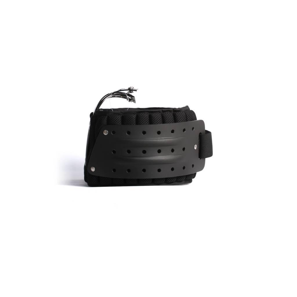 barnett MBP-01 American Football Rippen- und Rückenschutz, Farbe schwarz