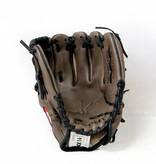 """barnett GL-110 Baseball Handschuh, Echtleder, Wettkampf, Infield Größe 11"""" (inch), braun"""