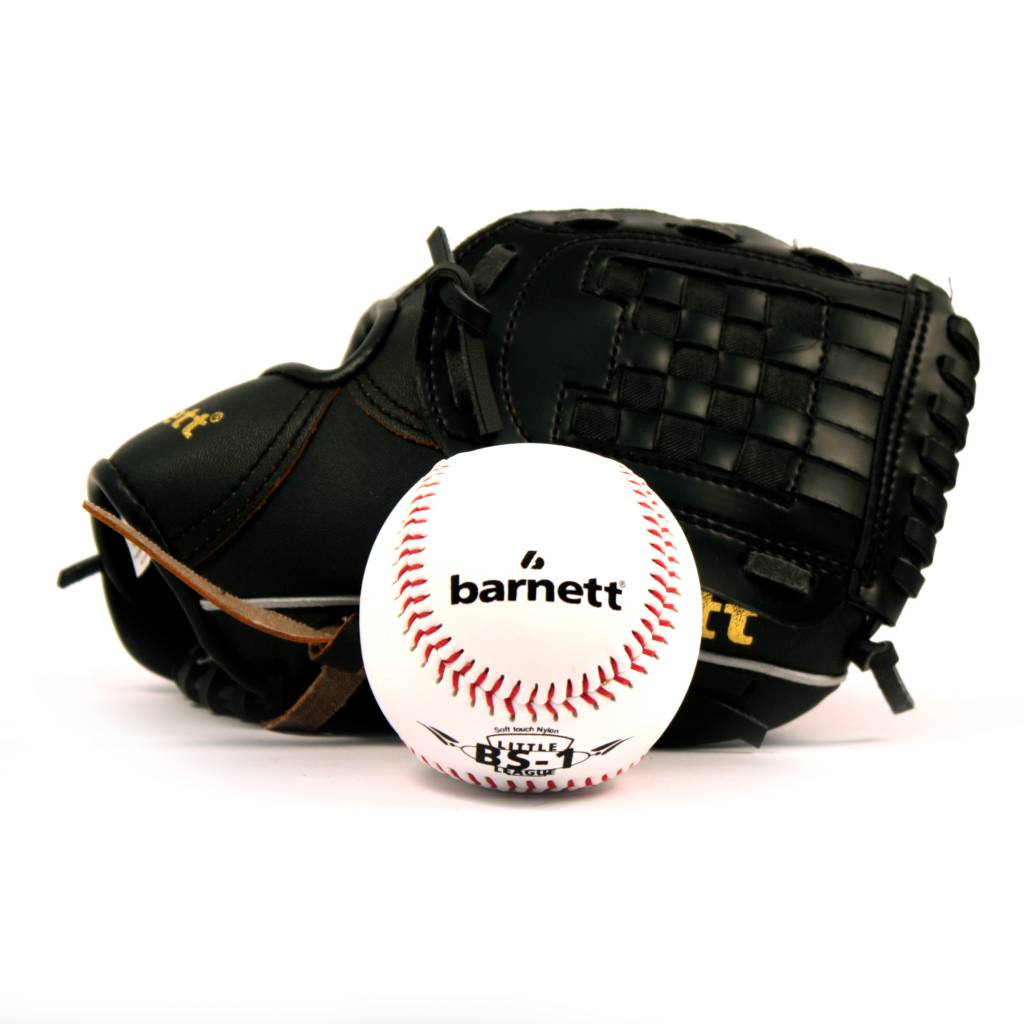 barnett GBJL-4 Baseball PU Junior (Kinder) Set, Handschuh & Ball, (JL-102, BS-1)