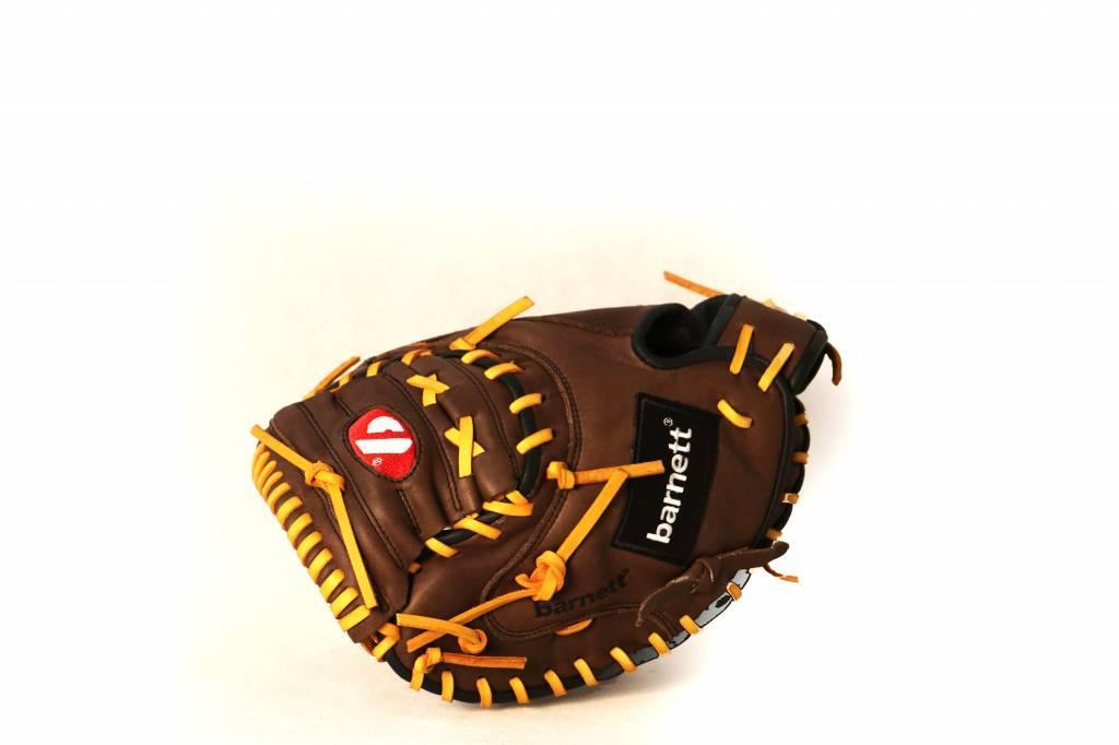 """barnett GL-202 Baseball Handschuh Fänger (Catcher) Erwachsene, Größe 34"""" (inch), Echtleder, Wettkampf"""