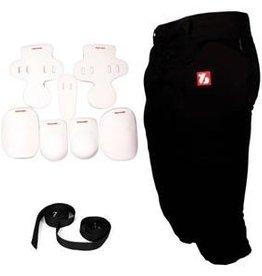 barnett FKTP-02 Schutz-set für Runningback Profis, mit Hose (1x FP-2+1x FKA-02+ 2x CMS-01)