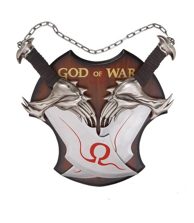 God of War Twin Bladed Sword Set