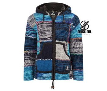 Shakaloha Dames Patchwork NH Mixblue