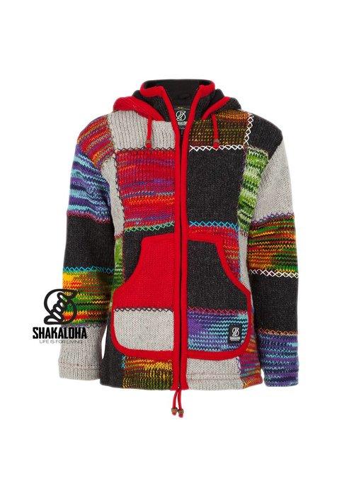 Shakaloha Dames Patchwork NH Multi Color ( Rood)