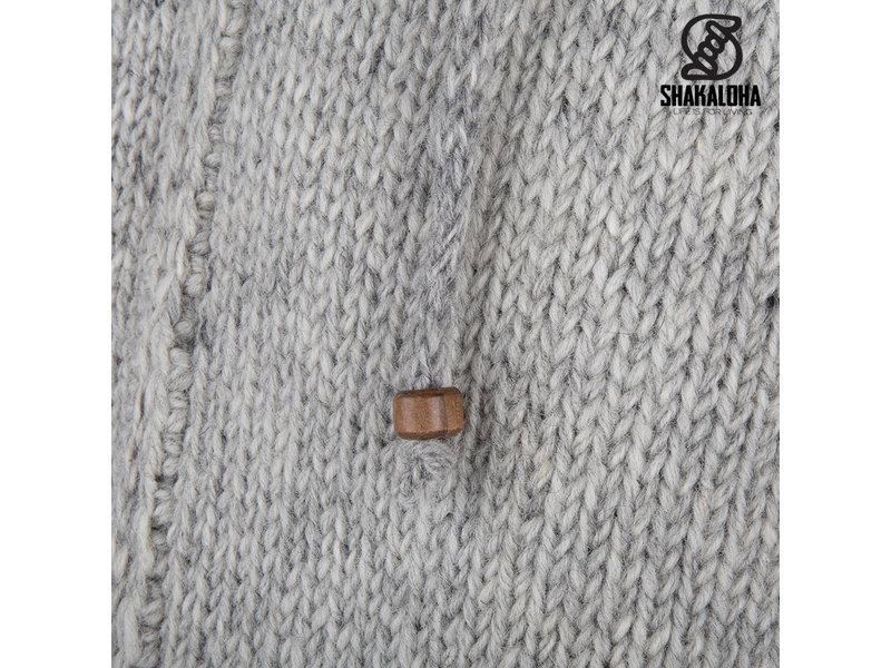 Shakaloha Shakaloha Breaker Grijs Wollen Vest met windstopper