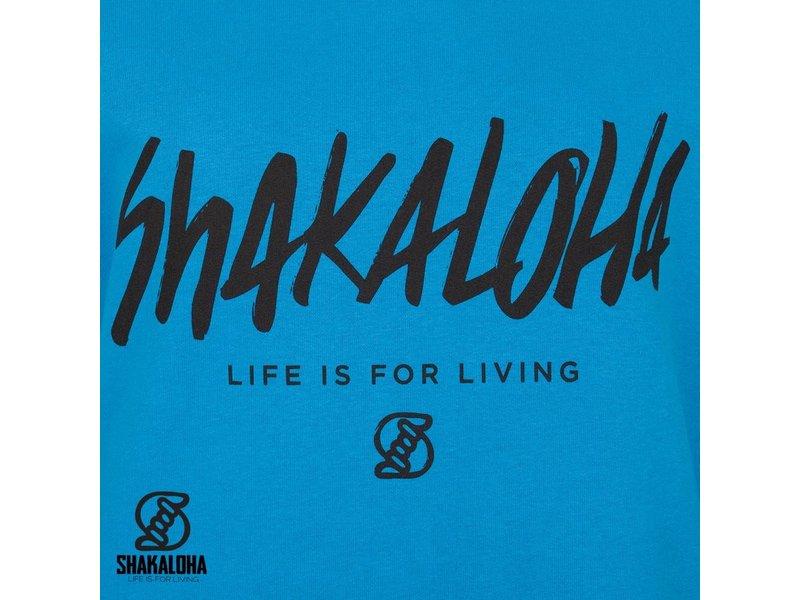 Shakaloha W Hood ShoutBLK Aqua