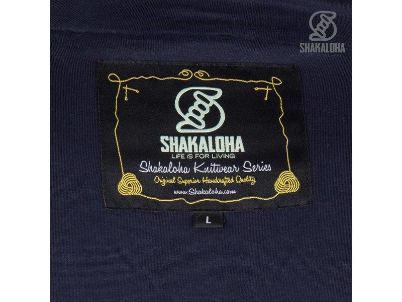 Shakaloha M Polaris Navy Fleece Gevoerde Pullover