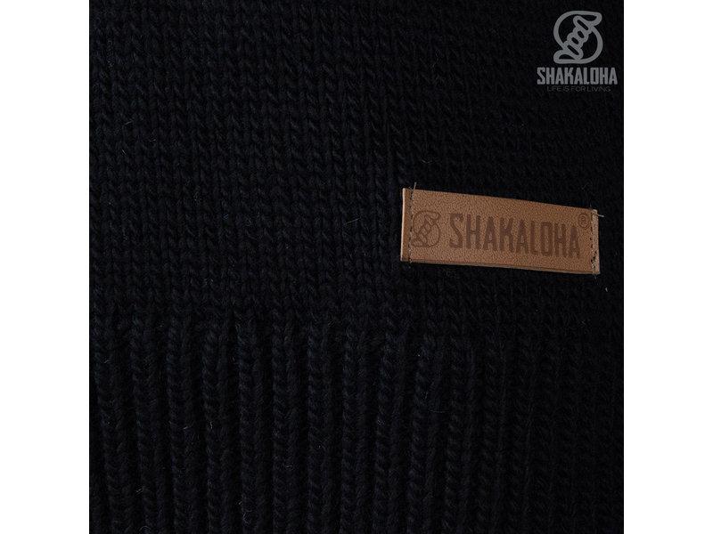 Shakaloha W Highneck Black
