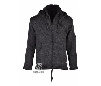 Wonderlijk grijs grijze wol wollen vest jas vesten jas - wollen vesten voor IQ-36