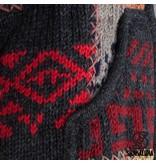 Shakaloha Man Patchwork Happy Schapen Wollen Vest