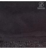 Shakaloha Baltonic Antraciet Gebreide Wollen Jas met afneembare capuchon