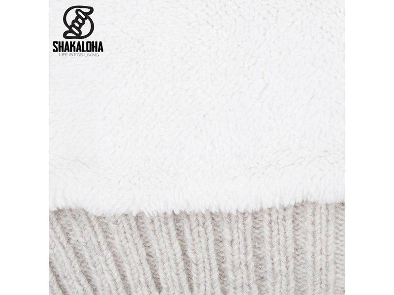 Shakaloha Bodhi Beige / Creme Sherpa Vest