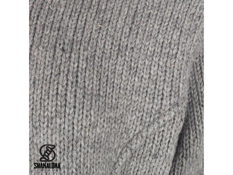 Shakaloha Tyler Sherpa Grijs Dames Vest