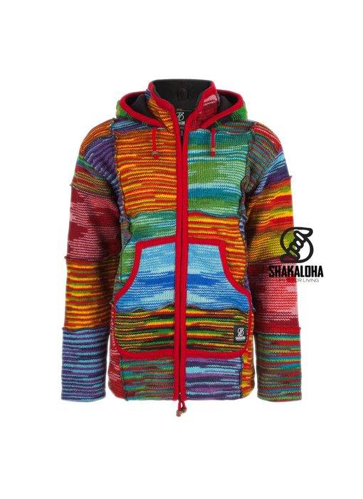 Shakaloha Vest Single Patchwork Multi voor Dames