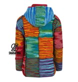 Shakaloha Single Patchwork Multicolor voor Dames, dunnere steek patchwork vest