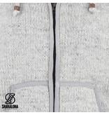 Shakaloha Wollen Vest Heren Gadi Classic Grey