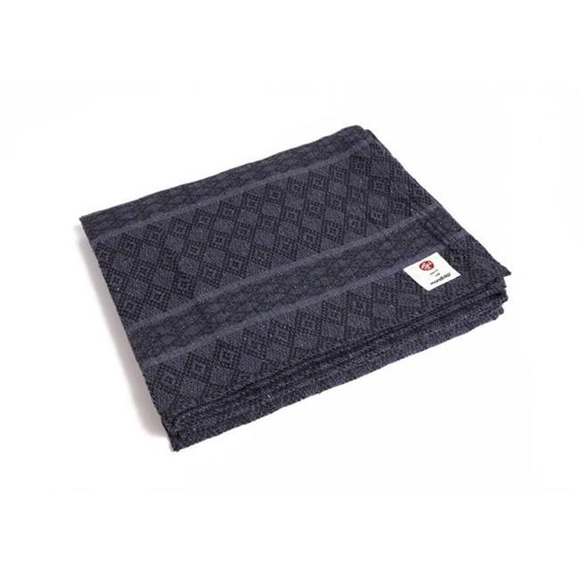 Manduka Yoga Blanket Cotton - Thunder - Manduka