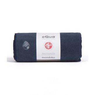 Manduka eQua Yoga Towel 183cm - Midnight