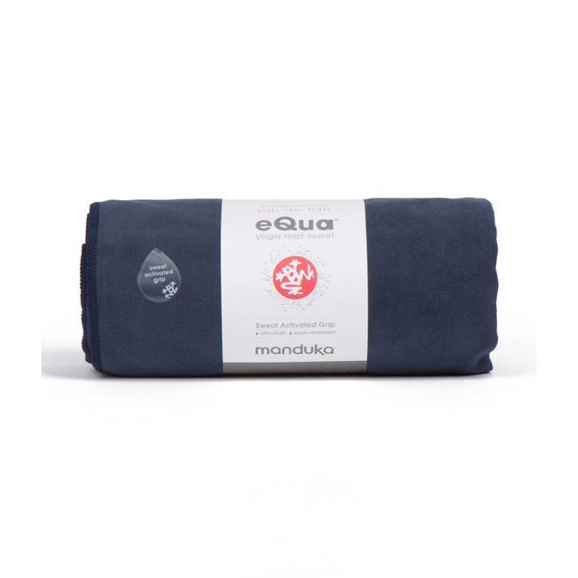 Manduka eQua Yoga Towel - Midnight - Manduka
