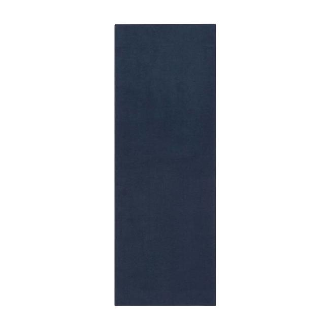 Manduka eQua Yoga Towel - 183 cm - Midnight - Blau
