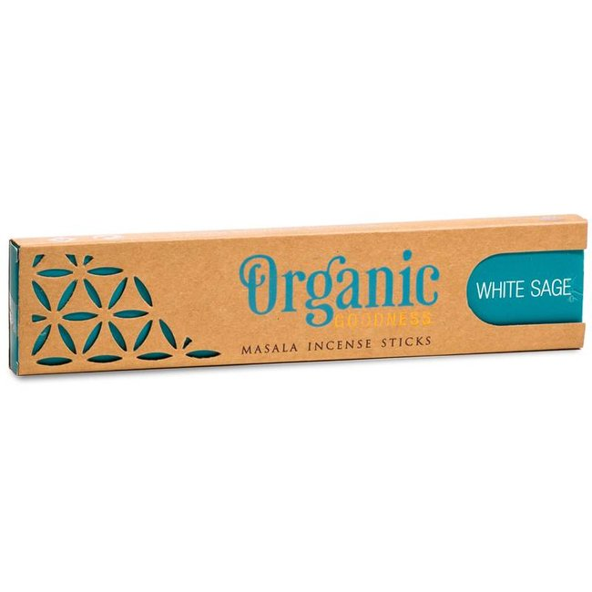 Organic Goodness Incense Sticks - White Sage