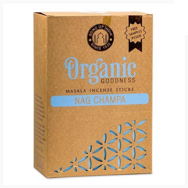Organic Goodness - Masala Weihrauch - Nag Champa - Schachtel mit 12 Stück