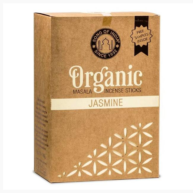 Organic Goodness - Masala Incense Sticks - Jasmine - Box of 12 pieces