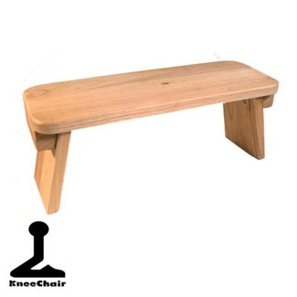Fixed Meditation Bench - American Oak