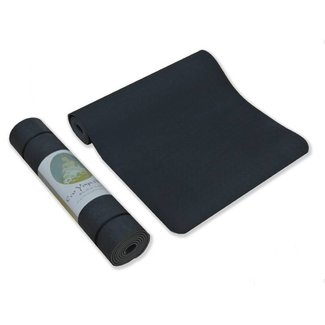 Love Generation Eco Yogamatte - Schwarz