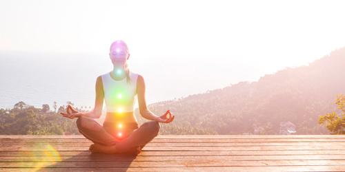 7 yoga chakra's in het lichaam