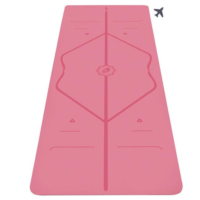 Liforme Travel Yogamat - 2mm - Roze