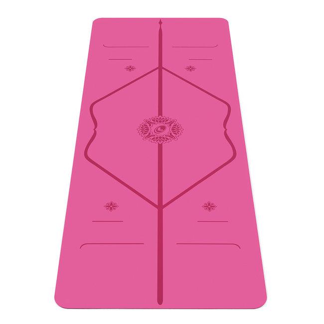 Liforme Gratitude Yoga Mat - 4mm - Pink