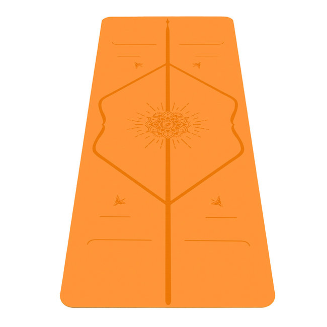 Liforme Happiness Yoga Mat - 4mm - Orange