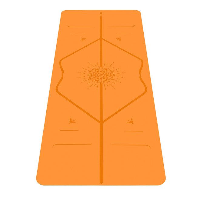 Liforme Happiness Yogamatte - 4mm - Orange