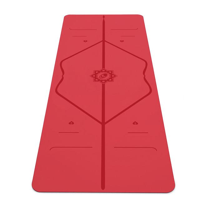 Liforme Love Yoga Mat - 4mm - Red