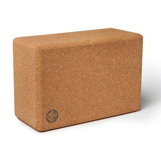 Manduka Cork Yoga Block - Large