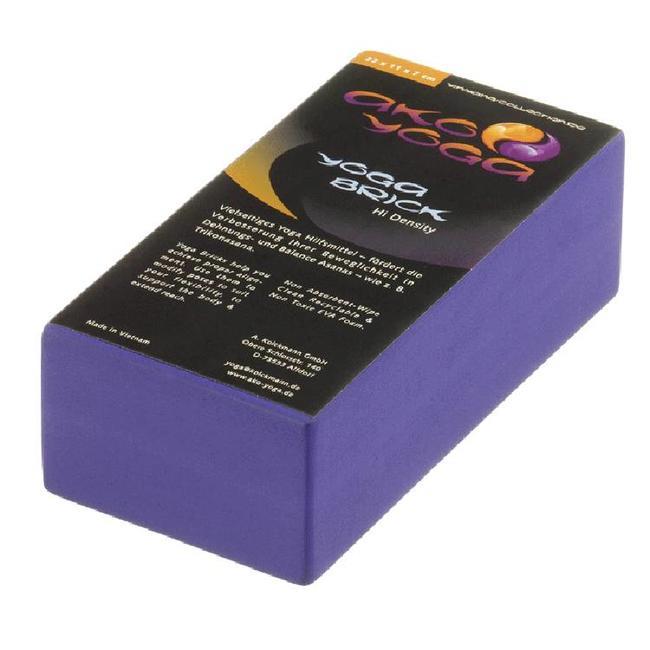 Foam Yoga Block - Medium - Purple