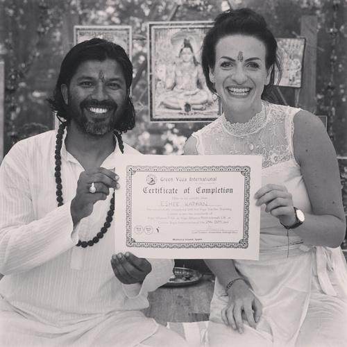 Esmee Kapaan yogateacher