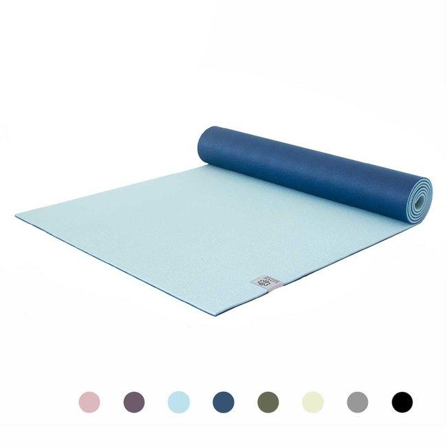 Premium Yogamatte - Divine Aqua - Hellblau - 6mm