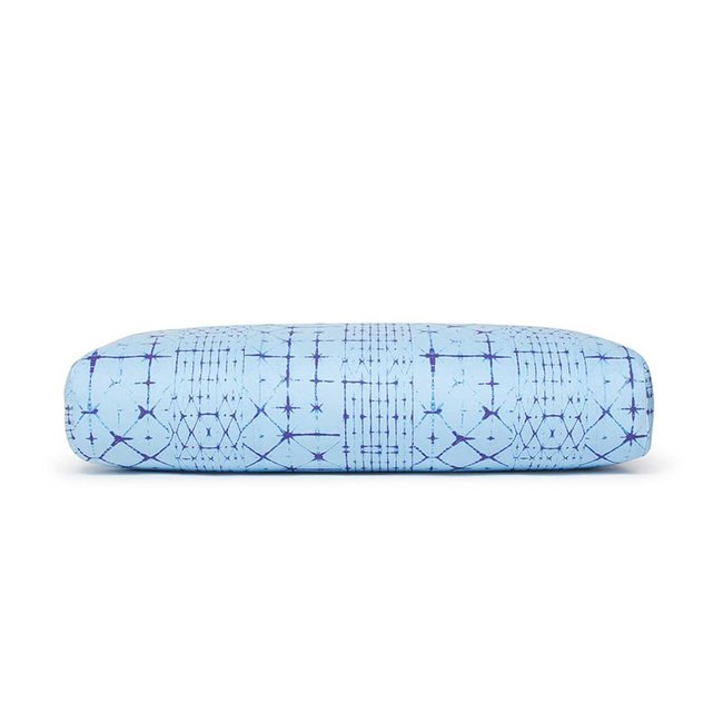Manduka Enlight Rectangular Bolster - Star Dye Clear Blue - Manduka