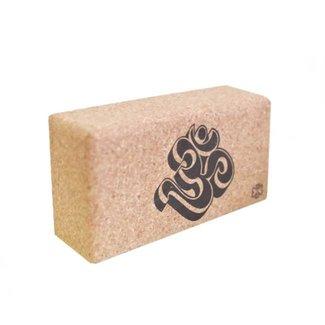 Love Generation Cork Yoga Brick - Ohm - Love Generation