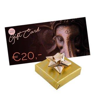 Gift Voucher 20 Euro