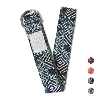 Love Generation Full Color Yoga Strap -  Jungle - Love Generation