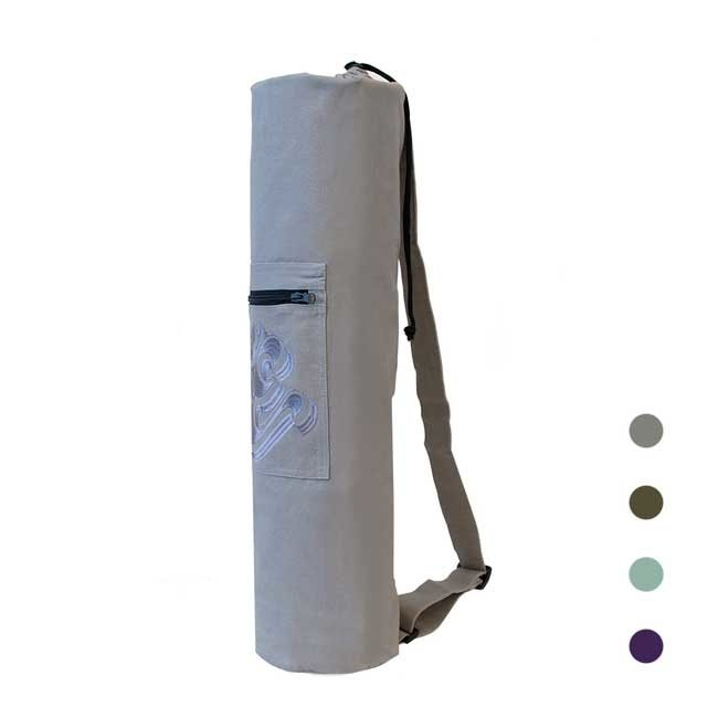Yoga Mat Bag with Ohm-application