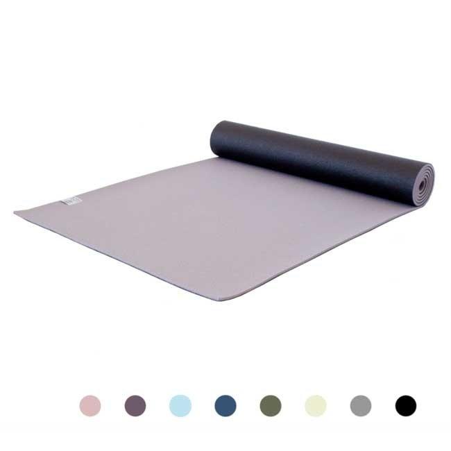 Premium Yogamatte - Enlightening Grey -  Grau - 6mm