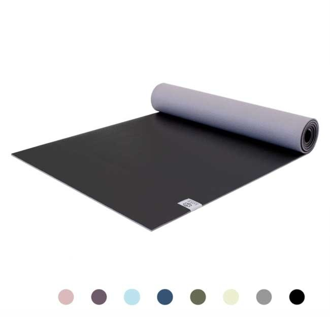 Premium Yoga Mat - Diamond Black - Black - 6mm